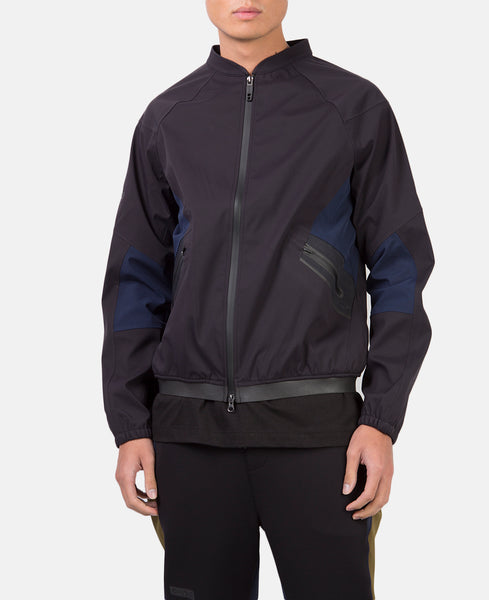RENZO FULL ZIP (BLACK)