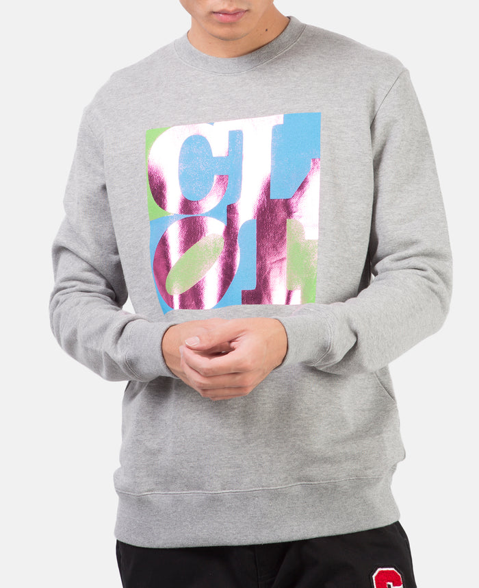 CLOT CREWNECK SWEATSHIRT (GREY)