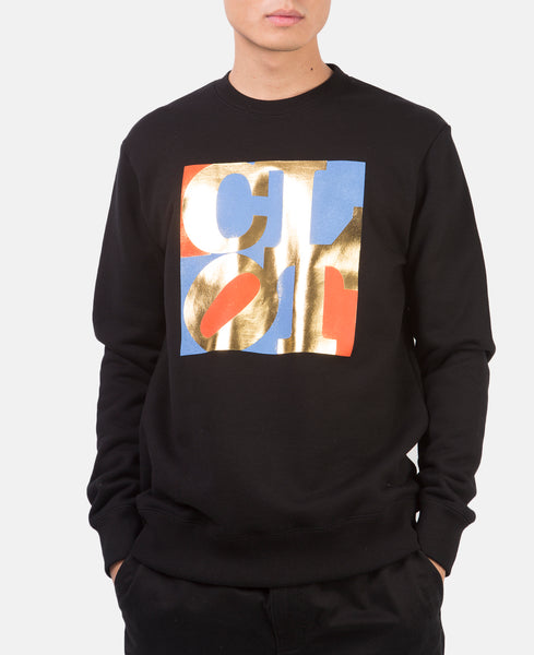 CLOT CREWNECK SWEATSHIRT (BLACK)