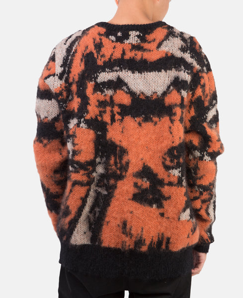 GLACIAL KNIT SWEATER (ORANGE)