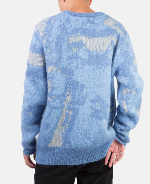GLACIAL KNIT SWEATER (BLUE)