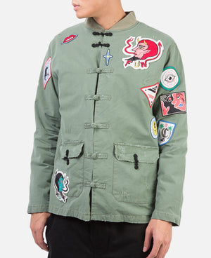 Dr.Woo Military China Jacket
