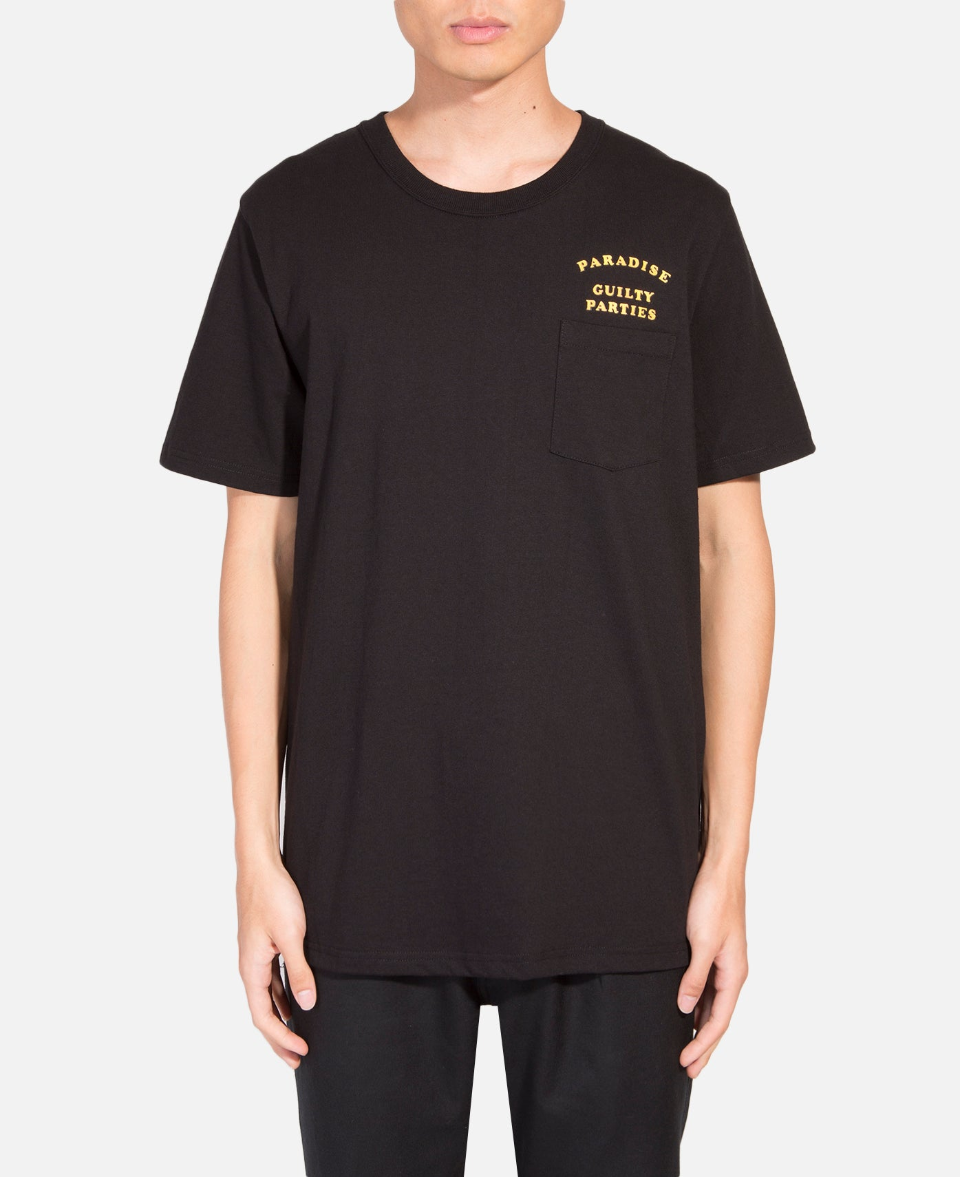 Over Size Crew Neck Pocket T-Shirt (Type-2)