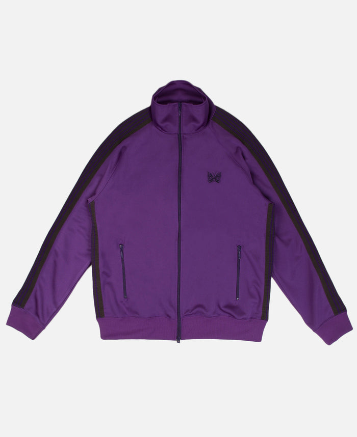 Track Jacket Poly Smooth Purple