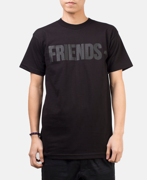 FRIENDS TOP (BLACK OUT)