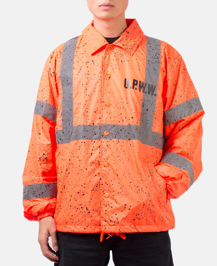 COACH JACKET (ORANGE)