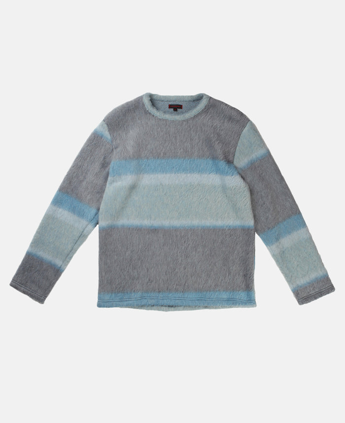 JAGGY KNIT SWEATER (GREY)