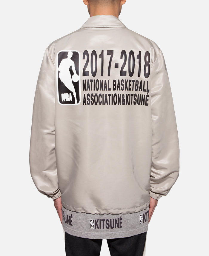 Kitsuné x NBA Coach Jacket