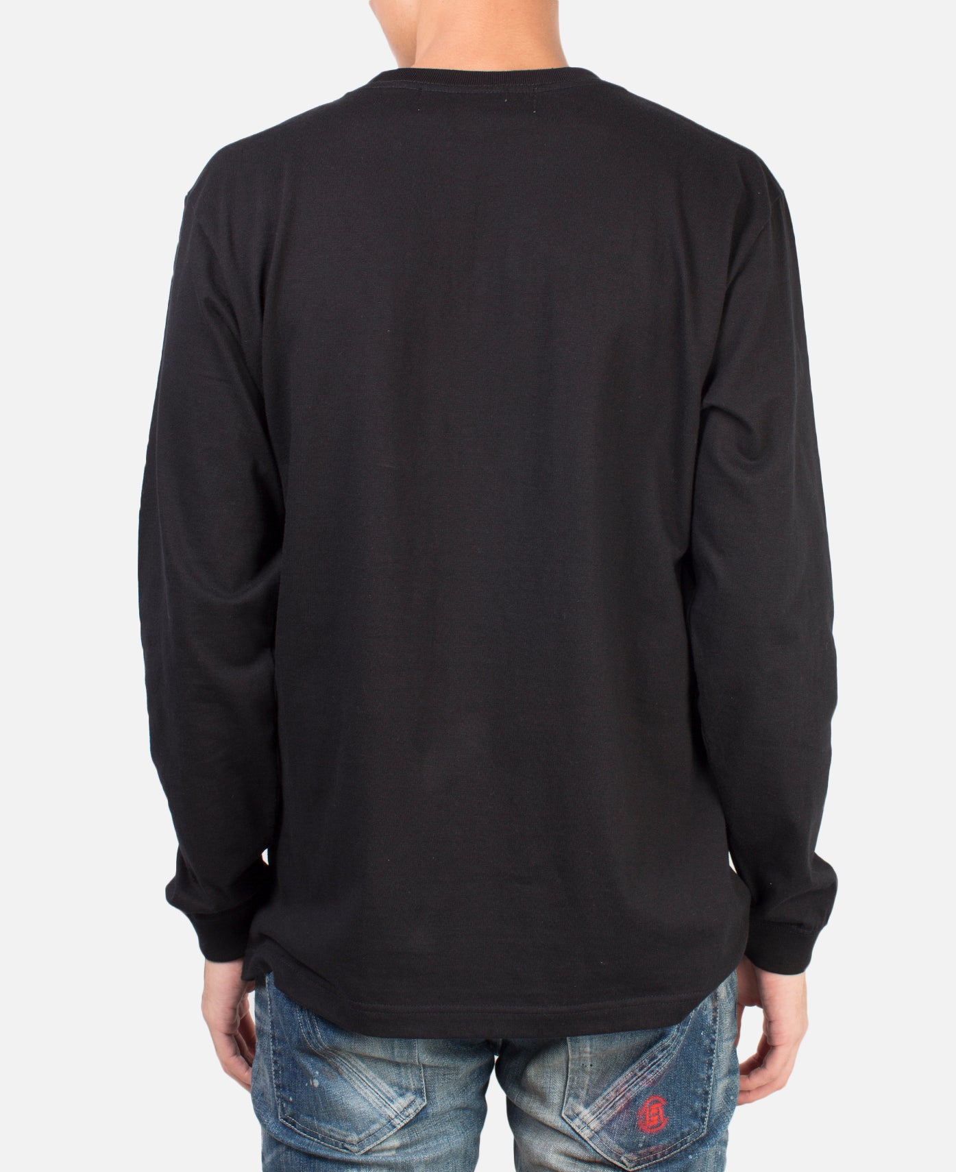 TONGUE L/S T-SHIRT BLACK
