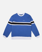 Border Panel Crewneck Sweat (Blue)
