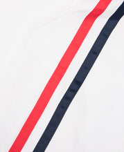 Stripe Windbreaker (White)