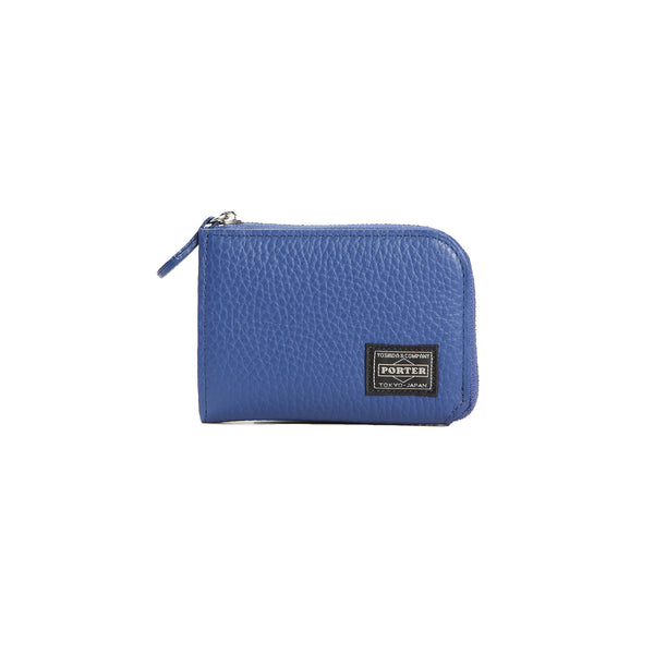 COIN CASE (LUCCA) (BLUE)