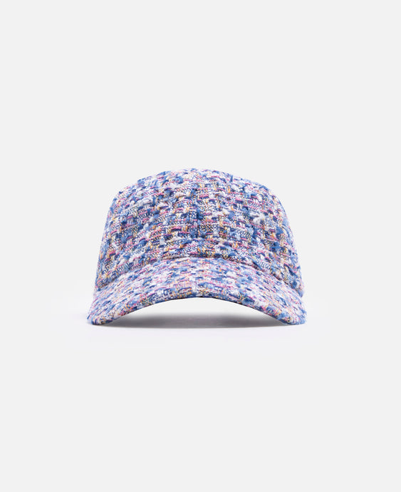Fancy Tweed Cap (Blue)