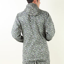 GEOMETRIC PRINTED TREK JACKET