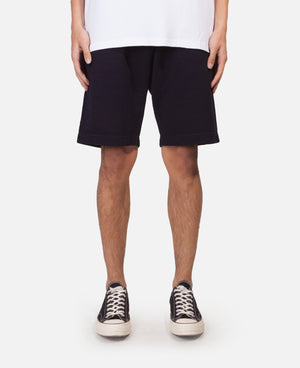 Indigo Sweat Short Pants