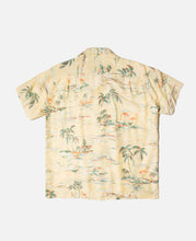 """Island Sea"" S/S Hawaiian Shirt"