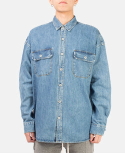 DENIM OVERSIZED SHIRT