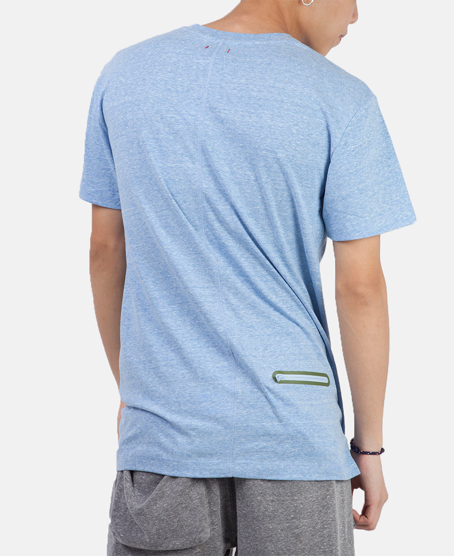 WELDED POCKET TEE (BLUE)