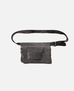 Dark Gray Waist Belt Bag