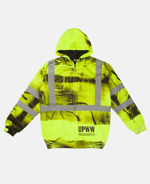 HOODED SWEATSHIRT (YELLOW)