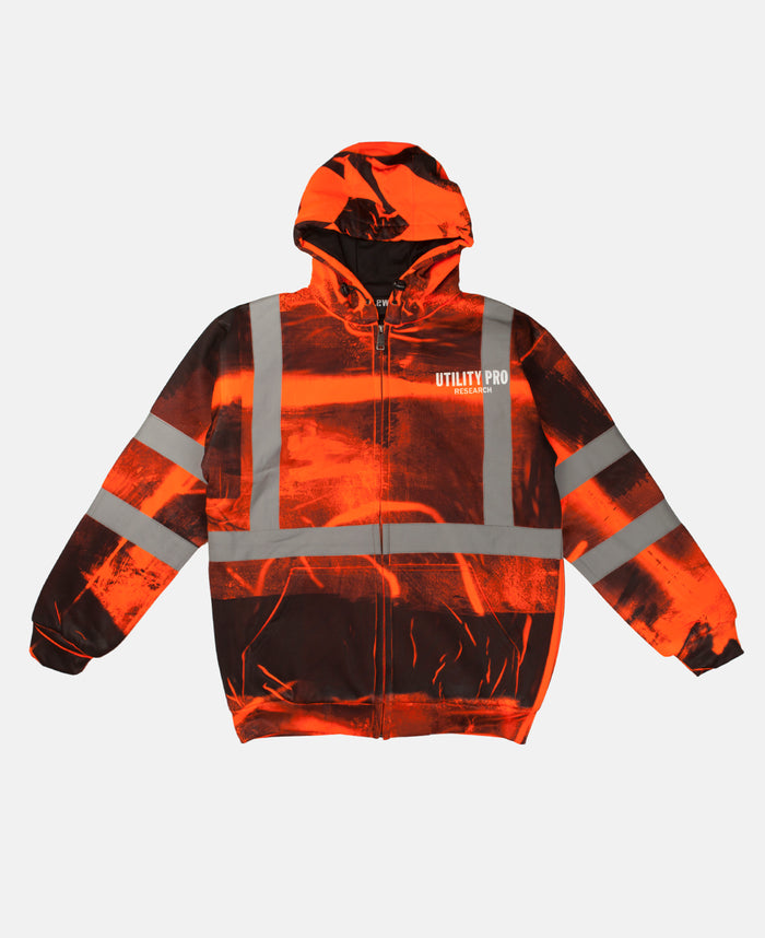 HOODED SWEATSHIRT (ORANGE)