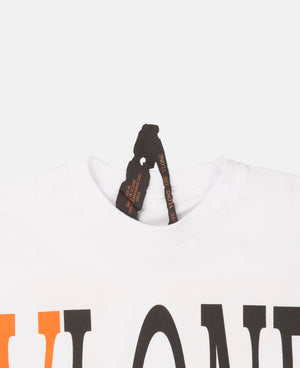 STAPLE TOP (WHITE/ORANGE)