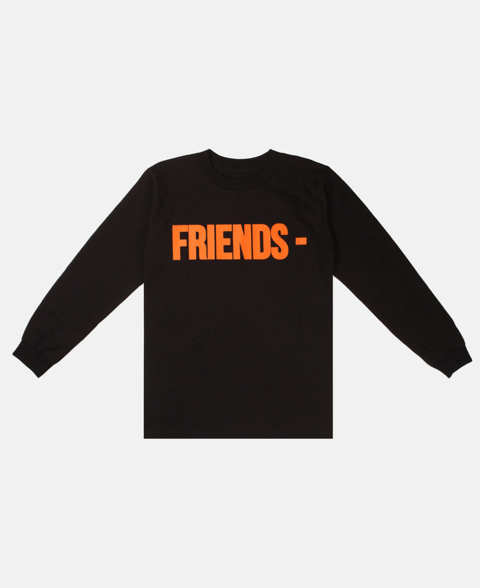 FRIENDS LONG SLEEVE (BLACK/ORANGE)