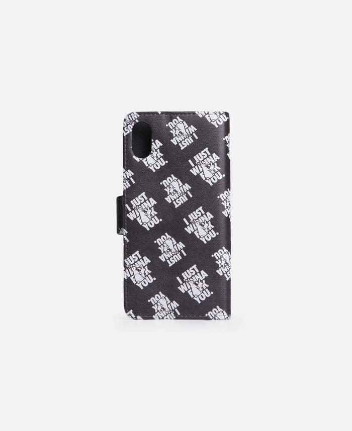 I Just Wanna Fuck You. For iPhone X (Black)