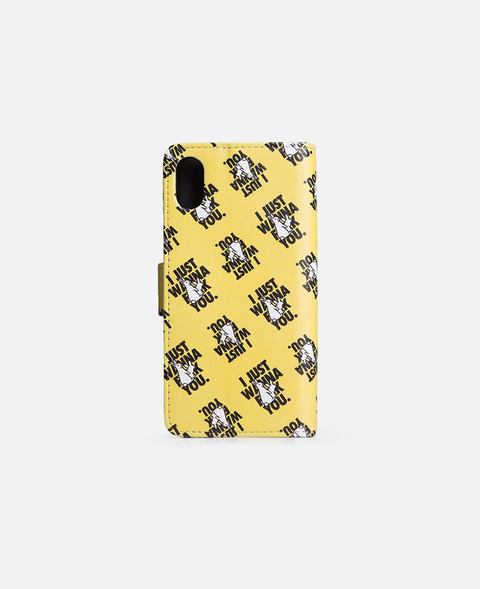 I Just Wanna Fuck You. For iPhone X (Yellow)