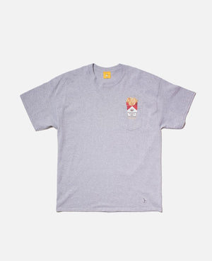 Love & Hate Pocket T-Shirt (Grey)