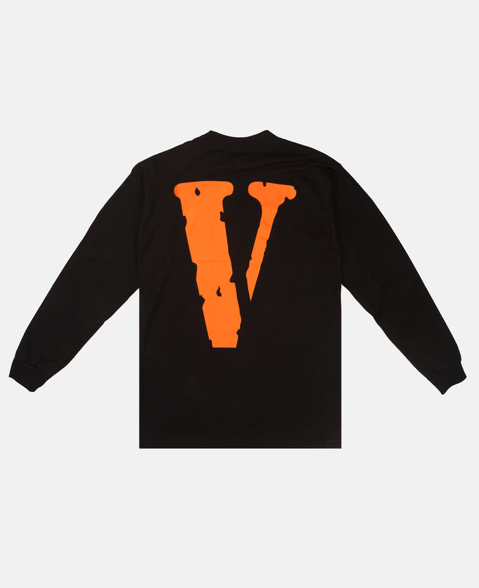 STAPLE LONG SLEEVE (BLACK/ORANGE)