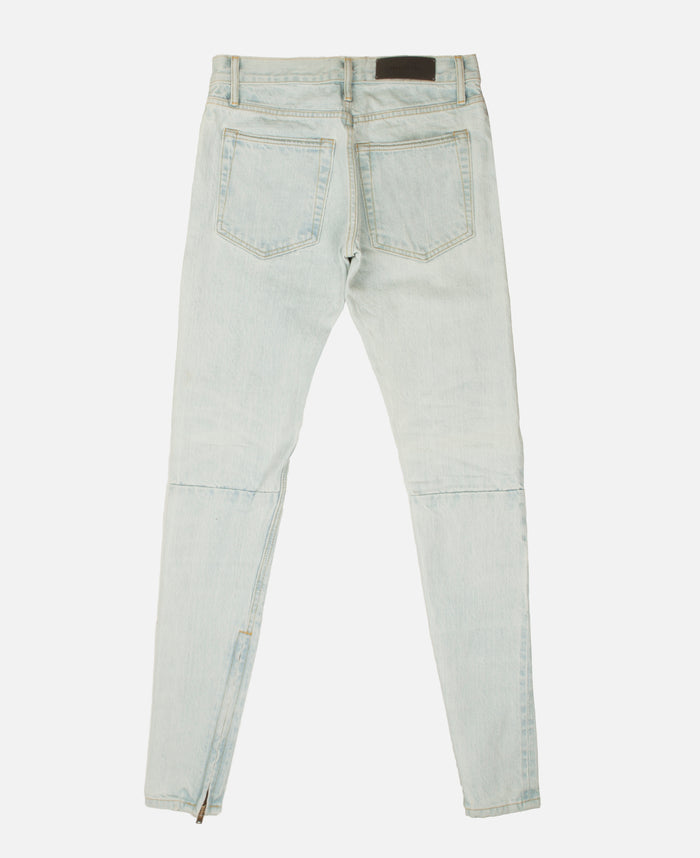 THE WASHED OUT INDIGO SELVEDGE DENIM JEAN-LIGHT