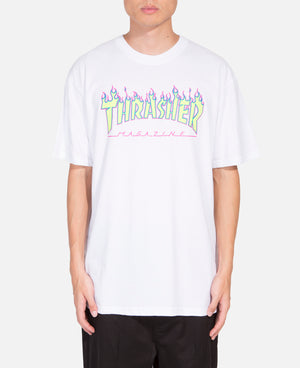 Flame Glow S/S T-Shirt (White)