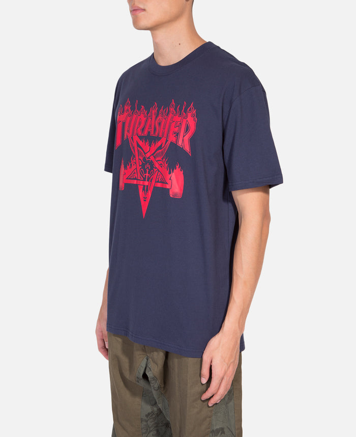 Skate Goat Flame S/S T-Shirt