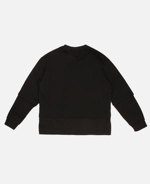 WHATEVER CREWNECK SWEATSHIRT (BLACK)