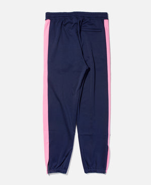 Track Pant With Side Line (Navy)