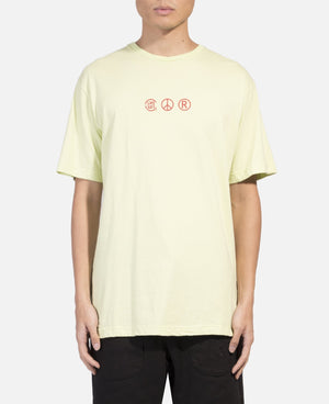 Logo Printed S/S T-Shirt (Green)