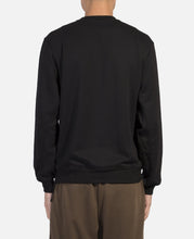 Side Zipped Crewneck Sweat (Black)