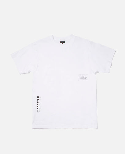 Exploration Diagram T-Shirt (White)