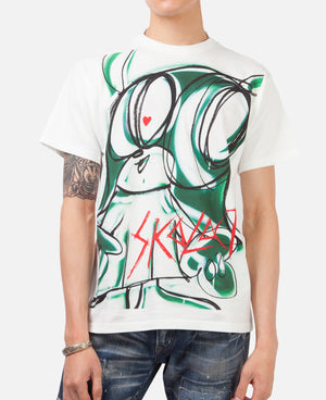 HYSTERIC GLAMOUR X SKOLOCT T-SH FOR ART SHOW (SKO-001)