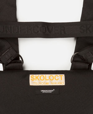 SKOLOCT X UNDERCOVER SHOULDER BAG BLACK
