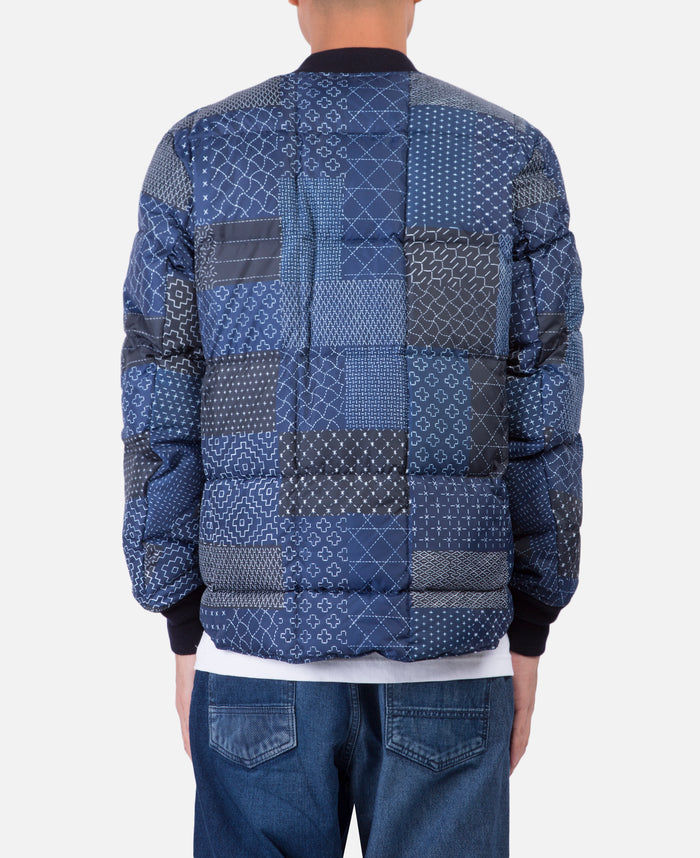 Zanter Sashiko Down Jacket