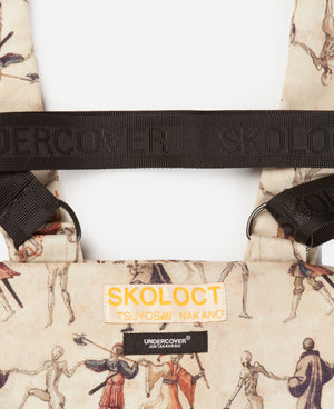 SKOLOCT X UNDERCOVER SHOULDER BAG BEIGE