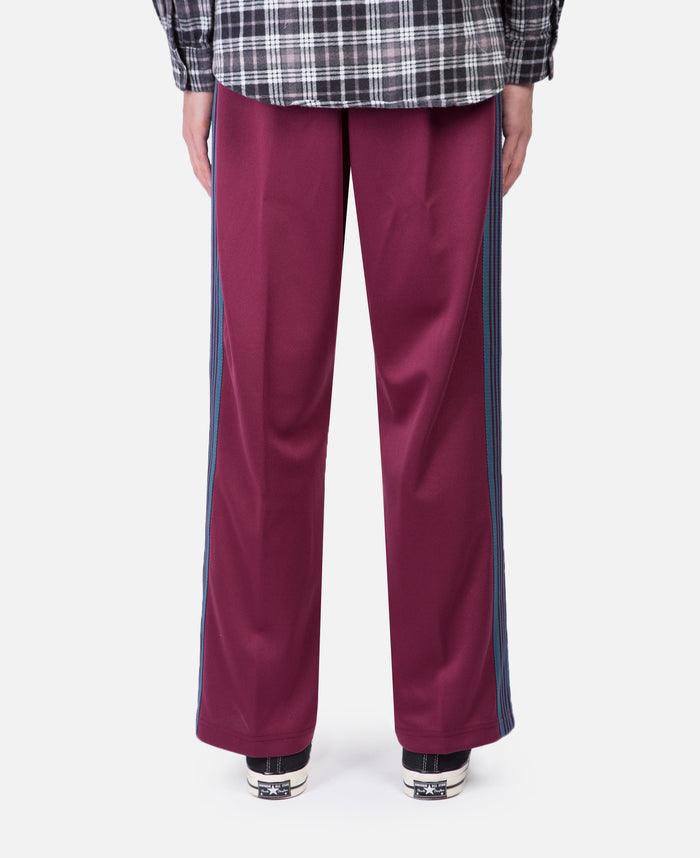 Track Pant - Poly Smooth (Burgundy)