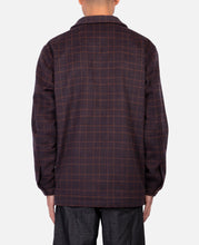 Plaid Shacket (Brown)