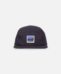 3 Layered Tape Seamed Camp Cap