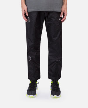 Nylon Calf Zip Trousers