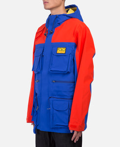 Double Knit Tech Jacket (Blue)