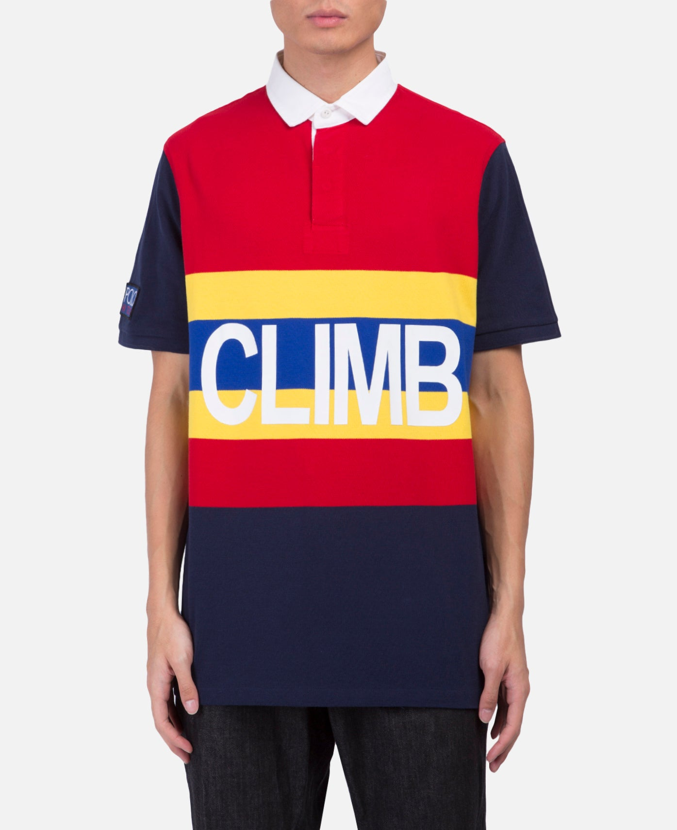 Basic Mesh Polo (Red)