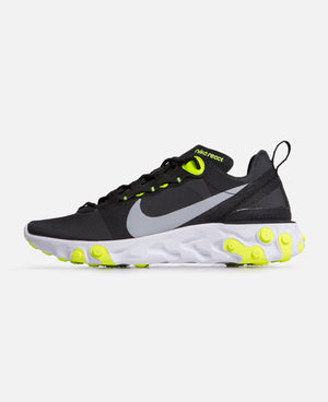Nike React Element 55 (Black/Volt)